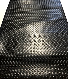 Treadmill Doctor Large Treadmill Mat for Home Fitness Equipment - 39 X 90.5 Inches - 5.7lbs