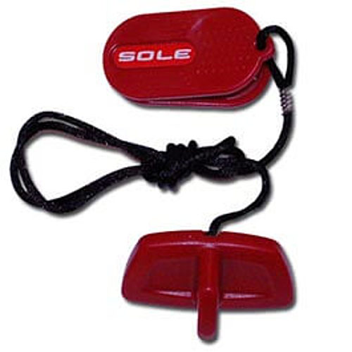 Sole Red T Safety Key