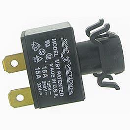 Pacemaster Resetable Circuit Breaker (15 Amp)