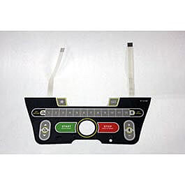 Horizon LS12.9T console overlay membrane Part Number 1000103648