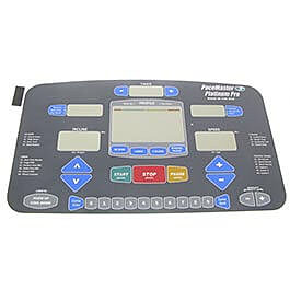 Pacemaster Pacemaster Platinum Pro Console Overlay (membrane)