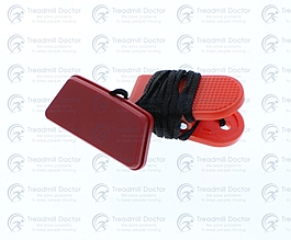 Sole AF85 (585810) Treadmill SAFETY KEY (SOLE LOGO) AF63/AF65/AF80 Part Number 004374 V1