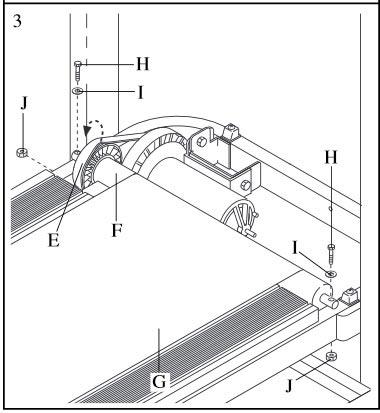 Front Roller Installation