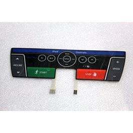 Horizon T202 Console Overlay Part Number 1000200652