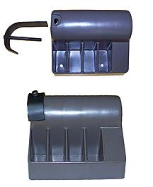 140024L Left Rear Endcap Repair Kit: Nordictrack Powertread 5.0/ 6.0