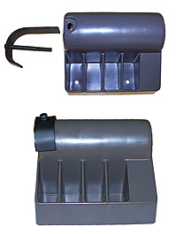 140024R Right Rear Endcap Repair Kit: Nordictrack Powertread 5.0/ 6.0