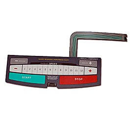 Healthrider S300i Console Overlay