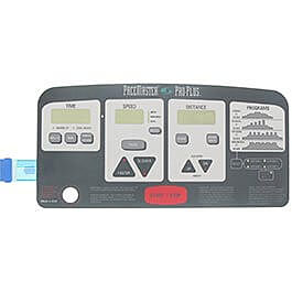Pacemaster Pro Plus Console Overlay (membrane)
