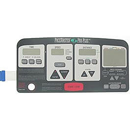 Pacemaster Pro Plus HR Console Overlay (membrane)